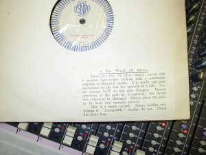 We can restore old recordings and digitise your cherished vinyl