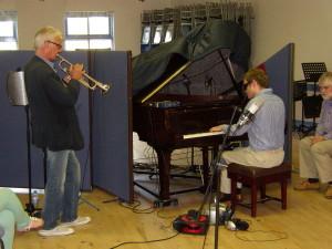 Grand piano location recording