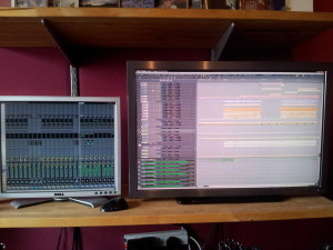 Recording multitrack in the studio