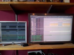 Recording multitrack in the studio