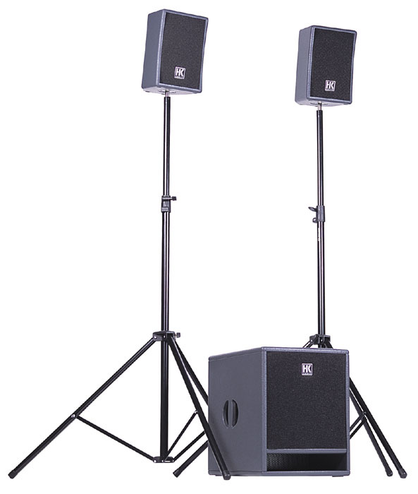 HK Lucas 350w PA System for DJ