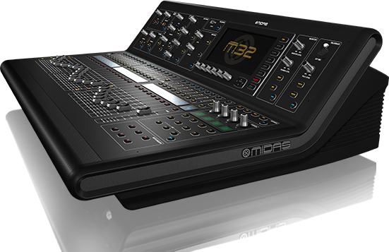 Midas M32 Hire Stage and Studio Services Telford Shrewsbury Midlands