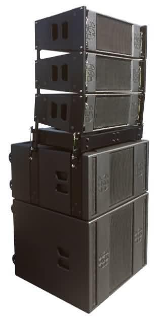 Line Array Hire Telford Shropshire Midlands