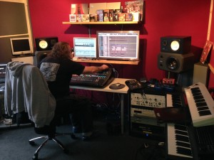 Recording engineer/producer Trev Wilkins