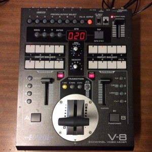 V-8 Video mixer