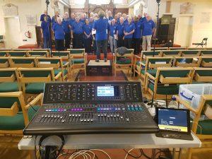Recording choir